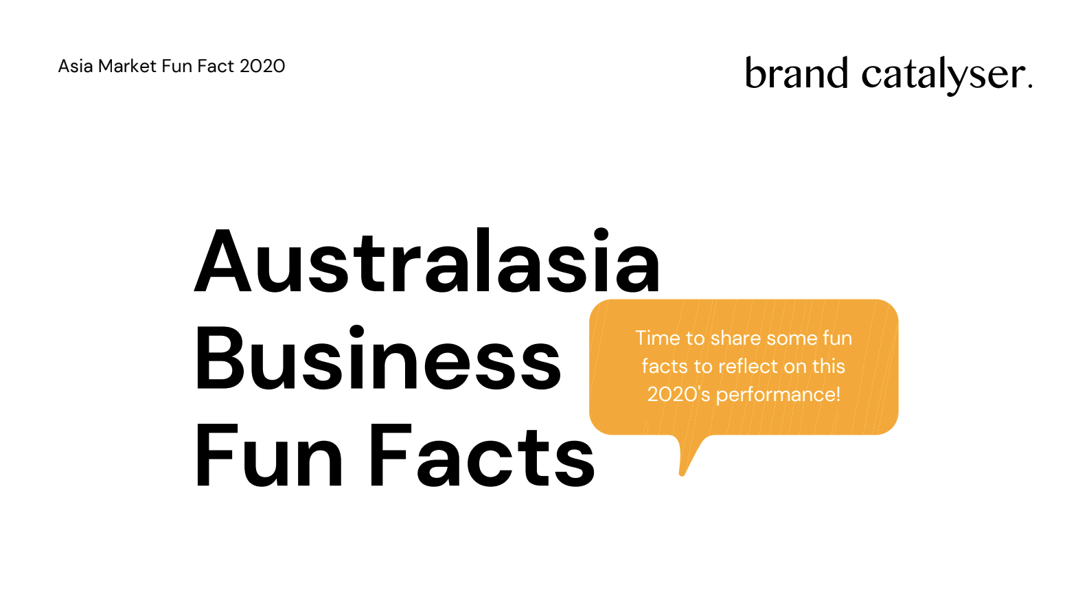 Australasia Business Fun Facts