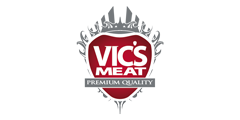 vic's meat logo